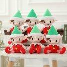 30cm Cute Christmas Spirit Doll Elf On Shelf Christmas Tradition Plush Doll Toy for Santa Deco