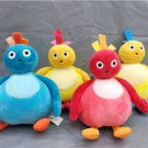 New Twirlywoos TOODLOO GREAT BIGHOO Chickedy Chick plush Toy Set of 4 gift
