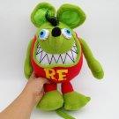 "NEW 12"" RAT FINK GREEN PLUSH DOLL"