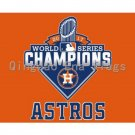 2017 Houston Astros champion flag banner Free shipping 3x5FT (Style A)