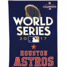 Houston Astros 2017 American World Series Champions Polyester Indoor Flag Banner