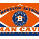 Houston Astros Man Cave Custom Flags 3x5ft Polyester Digital Print Flag with 2 Metal Rings