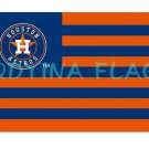 2017 Houston Astros STRIPE Flags Polyester Digital Print baseball team Support 3x5ft banner
