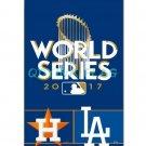 2017 Houston Astros VS LA Dodgers WORLD SERIES Flags Polyester Digital Print baseball team Support