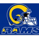 3x5ft Polyester Rams teams Flag with two metal Grommets white sleeve