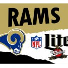3x5ft Los Angeles Rams Custom Flags Polyester Digital Print Football Support Flag