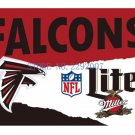 Wholesale Atlanta Falcons Custom Flags 3x5ft Polyester Digital Print Flag with 2 Metal Rings