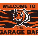 Customized cincinnati bengals polyester banner with 2 grommets