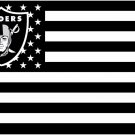Oakland raiders Star and Stripe flag with lines 90x150cm polyester digital print banner STB