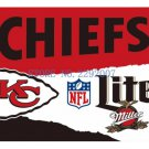 3x5ft Kansas City Chiefs Custom Flags Polyester Digital Print Football Support Flag