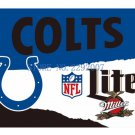 3x5ft Indianapolis Colts Custom Flags Polyester Digital Print Football Support Flag