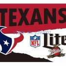3x5ft Houston Texans Custom Flags Polyester Digital Print Football Support Flag