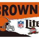 3x5ft Cleveland Browns Custom Flags Polyester Digital Print Football Support Flag