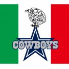 New design Mexico Cowboys flag 90x150cmwith 2 Metal Grommets Wholesale