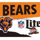3x5ft Chicago Bears Custom Flags Polyester Digital Print Football Support Flag