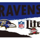 Baltimore Ravens Custom Flags 3x5ft Polyester Digital Print Football Support Flag