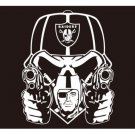 Oakland Raiders New Design Flags 3x5ft Polyester Digital Print Flag with 2 Metal Rings