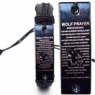 Wolf Prayer Braided Rope Leather Unisex Bracelet Yak Bone Carved Logo Fashion Jewelry