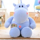 Children Plush Stuffed Toy soft pillow Hippos Baby Kids Toy for Christmas Birthday gift