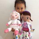 Set 35cm Original Doc McStuffins plush toys, Dottie girl and McStuffin Lambie sheep plush