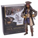 Pirates of the Caribbean Captain Jack Sparrow PVC Action Figure Collectible Model Toy