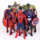 Marvel Super Heroes Iron Man Spiderman Captain America Thor Hulk Thanos PVC