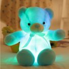 50cm Blue Creative Light Up LED Teddy Bear Stuffed Animals Plush Toy