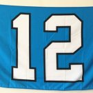 20x30cm Seattle Seahawks 12th Man Large Outdoor Flag Banner metal holes Flag Custom Flag