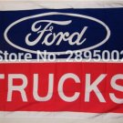 Ford Trucks Car Racing Banner Flag Polyester grommets 3' x 5' Hockey Baseball Football Flag