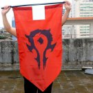 World of war craft Horde and alliance Flags WOW Hearthstone cosplay Flags (STA)