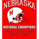 3x5ft Nebraska Cornhuskers Flag Large Fans Supporters Outdoor Indoor Banner (STE)