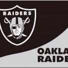 3x5ft Oakland Raiders Flag Polyester Banner 90x150cm white sleeve RAIDER NATION (STC)
