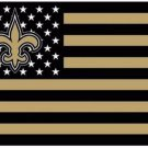New Orleans Saints US flag with star and stripe 3x5 FT banner (STB)