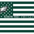 Philadelphia Eagles with modified US Flag Banner Flying Custom flag 3ft x 5ft