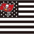 Tampa Bay Buccaneers US flag with star and stripe 3x5 FT banner (STB)