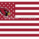 Arizona Cardinals USA star stripe Premium Team Football Flag 3X5FT No.4 Custom flag