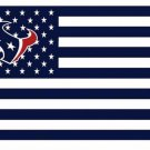 Houston Texans US flag with star and stripe 3x5 FT banner (STA)