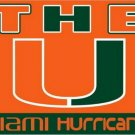 3ftx5ft Miami Hurricanes flag 100D Polyester Flag metal Grommets NCAA flag (STB)