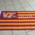 3X5FT Va Tech Hokies Virginia Tech Flag for Alumni Nation US banner custom flag 100D
