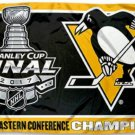 Pittsburgh Penguins 2017 Stanley Cup Champions Flag 3x5ft (STB)