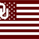 3x5 ft Oklahoma Sooners Flag with 2 metal grommets Large Fans Supporters Outdoor Indoor Banner