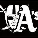 Oakland Raiders one nation flag 90x150cm polyester banner (STA)
