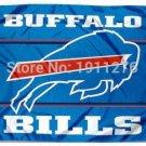 Buffalo Bills Flag NF* National Football League 3ft x 5ft Polyester Banner Flying (STC)