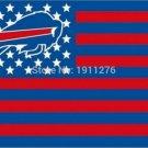 Buffalo Bills Flag NF* National Football League 3ft x 5ft Polyester Banner Flying (STE)
