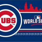 2016 world series champions Chicago Cubs flag 90X150cm factory sell (STD)