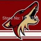 Phoenix Coyotes Flag 3x5 FT 150X90CM Banner Polyester NHL Arizona Coyotes flag banner