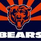 Chicago Bears flag 3ftx5ft Banner 100D Polyester Flag metal Grommets (STA)