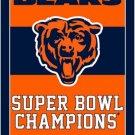Chicago Bears flag 3ftx5ft Banner 100D Polyester Flag metal Grommets (STB)