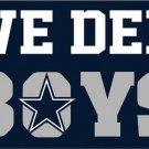 3x5ft Dallas Cowboys we dem boys flags 90x150cm with 2 Metal Grommets (STA)