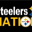 New Design 3x5ft Pittsburgh Steelers Nation Flag 100D Polyester Flag (STA)